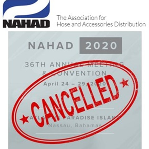 NAHAD Annual Convention Cancelled for 2020